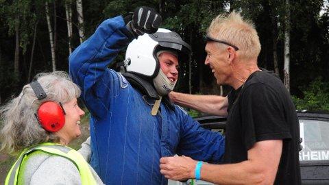 EN GLAD GUTT: Mats Åsheim kjørte fra alle på Vendkvern i dag.
