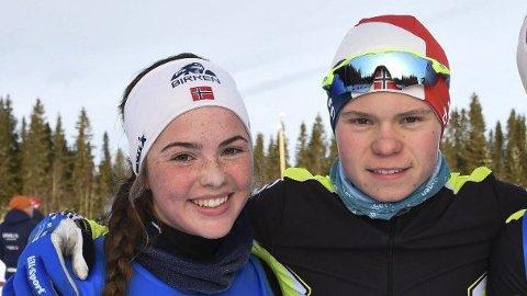 Troppen til MjøsSki leverte mange sterke prestasjoner under Kvalfossprinten i Kollen lørdag.  Odin Høie Vollum og  Gina Lagmandsveen Hjemli ble henholdsvis nummer seks og sju.