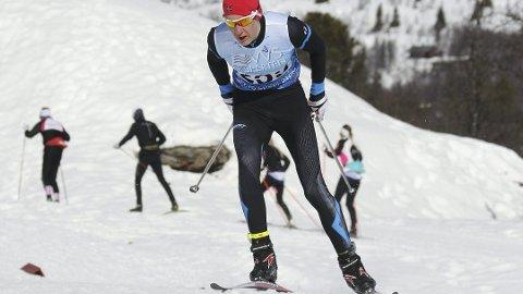 Håvard Hovde ble nummer sju på fredagens norgescuprenn på Beitostølen.