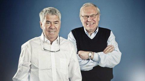 Kommer: Egil Drillo Olsen og Arne Scheie. Duoen er svært kjent for veldig mange og har kunnskaper som få andre. Nå vil de stille spørsmål i quiz på Bakeriet.