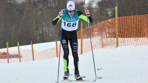 Jonas Vika fra Brumunddal ble nummer seks på lørdagens NM-løp i Steinkjer.