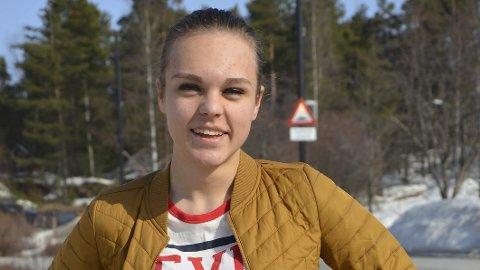 – Dette som er meg: Amalie Krogsrud Bjerke forteller at hun bare har fått positive tilbakemeldinger på at hun har korrigert kjønn.Foto: Jeanette Sandbæk Håland