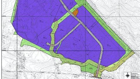 Rudshøgda: Nå legges områdeplanen for nøringsområdet fram for sluttbehandling, med åpning av Kinnlivegen.