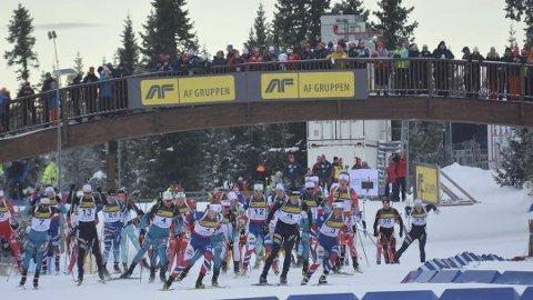 STORINNRYKK: Det bugner av skiskyttere på Natrudstilen om dagen og med både Sesongstart skiskyting og IBU-cup i november er det blitt etablert en ny høysesong på Sjusjøen.