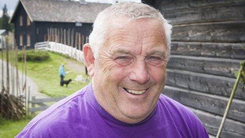 TOPPER LISTA: Asbjørn Sletvold er Pensjonistpartiets førstekandidat foran høstens kommunevalg.