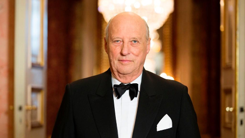 PÅ SYKEHUS: Kong Harald er innlagt på sykehus.