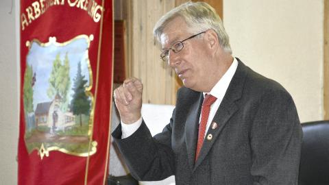 Ny stilling: Sigbjørn Johnsen ble spesialrådgiver etter at han gikk av som fylkesmann.