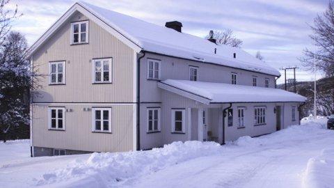 HAGEN: Hovedbygget/internatet.