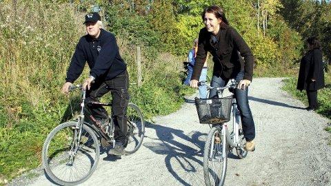 """Aktivitetskampanje: Startskuddet for """"Sykle til jobben""""- aksjonen går den 20. april."""