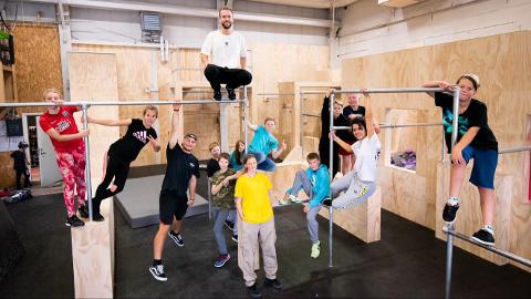 Populært: En helt ny sommerskole vekker stor interesse i Ringsaker. Hele 640 barn og unge har meldt seg på til sommerens skolen. Fysisk aktivitet er et av fagene elevene får.