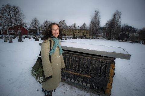 – Vi kan ikke la være å ha en bykirke, sier prost Kristin Moen Saxegaard.