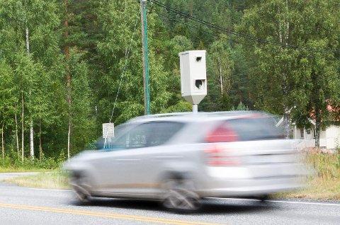 REDDER LIV: Fotobokser halverer antall ulykker i trafikken. (Illustrasjonsbilde)