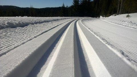 Et foto forteller mer enn tusen ord. Foto: Rolf Sørbråten, løypebas i Skiforeningen.