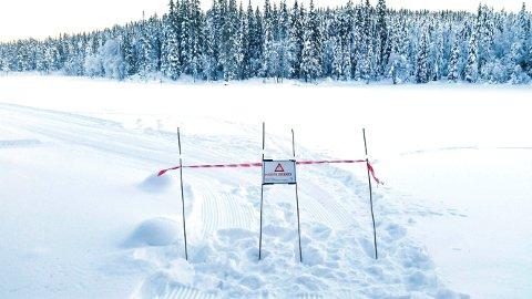 Farlige isforhold i Nordmarka