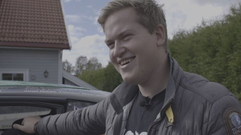 """STERK HISTORIE: Onsdag kveld kan du se premieren på """"Gatebil"""", hvor Andreas Odden Lehne (23) fra Helgelandsmoen forteller sin sterke historie."""