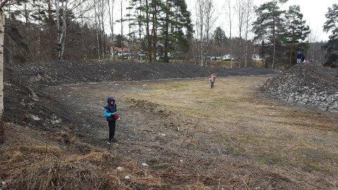 Elevene likte ikke det de så, og startet umiddelbart med å plukke søppel.