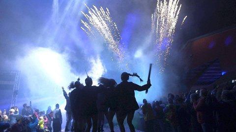 SHOW: Morten Eriksen håper mange publikummere kommer for å se fyrverkeriet.