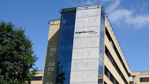 DÅRLIG VEI: Opp til Ringerike sykehus.