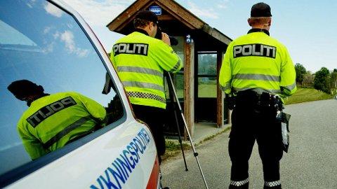 FØLG MED: Denne uken har Utrykningspolitiet (UP) spesielt fokus på kontroll av uoppmerksomhet, dessuten manglende bruk av bilbelte.