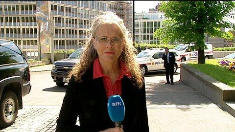 Gro Holm, utenriksjournalist i NRK