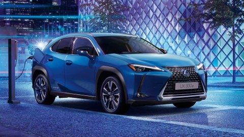 Lexus melder seg på i elbilklassen med denne: UX 300e.