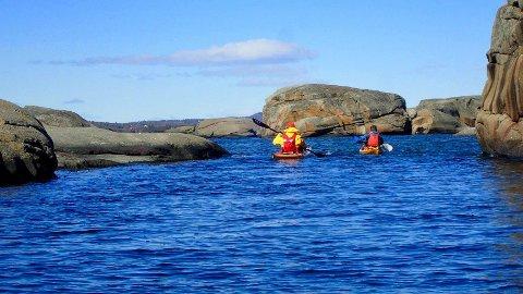 SALTVANN: - Som havkajakklubb på Ringerike tar vi turen til saltvann for både dagsturer og overnattingsturer, sier Per Erik Opseth.