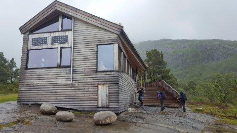 Nesten ny: Jonstølen er ei nesten helt ny hytte som er bygget i 2014.