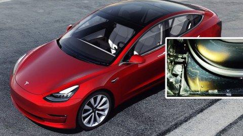 MISFORNØYDE KUNDER: Tesla har fått fart på salget av sin Model 3, men det skjer ikke helt uten problemer. Nå meldes det om flere som er misfornøyd med manglende lakk.