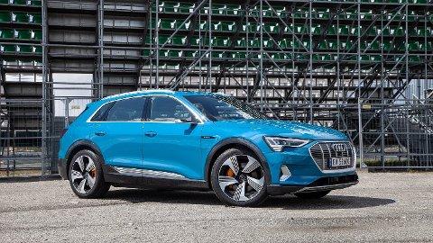 LILLEBROR: Audi lanserer nå en ny utgave av e-Tron med mindre batteri og langt lavere pris.