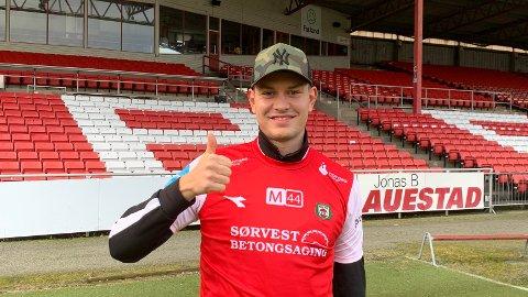 NY KLUBB: Kristoffer Hay forlater Aalesund, og skal spille for Bryne de neste to årene.