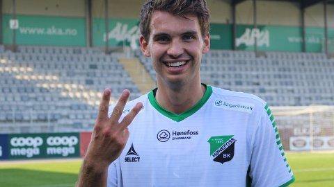 NY AVTALE: Thomas Nygaard er klar for ny sesong i HBK.