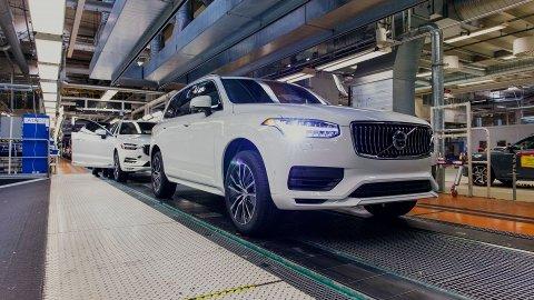 Volvo XC90 nærmer seg modellskifte. Den neste skal bygge på en helt ny plattform og blir også elektrisk.