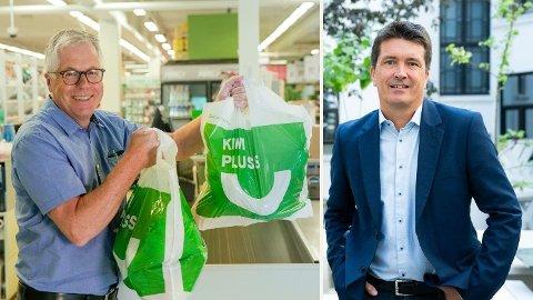 TRONSKIFTE: Jan Paul Bjørkøy og Kiwi har gått forbi Rema 1000 og Ole Robert Reitan i september i år. Foto: kIWI/sCANPPIX
