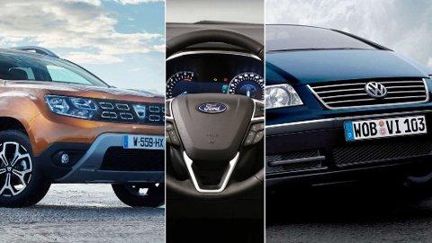 FELLE: Tyske TÜV har sett nærmere på ni millioner bruktbiler. Her får du oversikten over bilene med flest feil. Illustrasjonsfoto