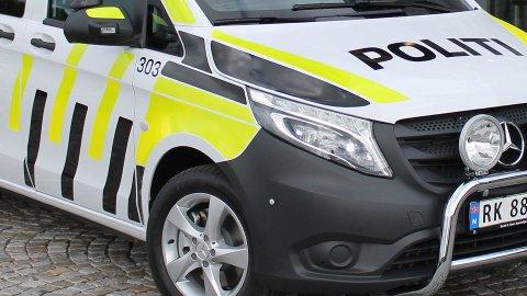 De neste syv årene skal politiet få overlevert en rekke eksemplarer av denne bilen, Mercedes Vito. Foto: Bertel O. Steen