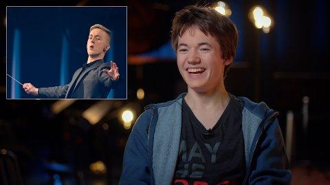 VINNER-DUO: Hermann Dahl (innfelt) vant «Maestro» med Mathias Liodden fra Hole som mentor gjennom åtte programmer.