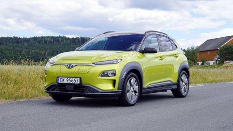 45.000 DYRERE: Populære Hyundai Kona har blitt 45.000 kroner dyrere, dette er bare en av mange biler med kraftig prisøkning nå.