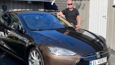 FORT GJORT: Det tok ikke en gang en time fra Marius Brenna Wilberg la ut Teslaen for salg – til bilen ble solgt.