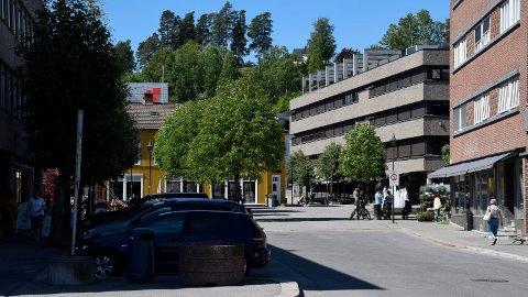 BILFRI: Kirkegata mellom Søndre torg og Kvernberggata kan bli bilfri.