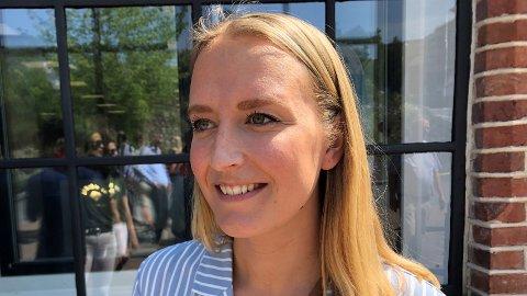 Sandra Bruflot gir ikke opp kampen for å komme inn på Stortinget og at Høyre skal sikre fortsatt regjeringsmakt selv om det siste ser vanskelig ut på meningsmålingene.