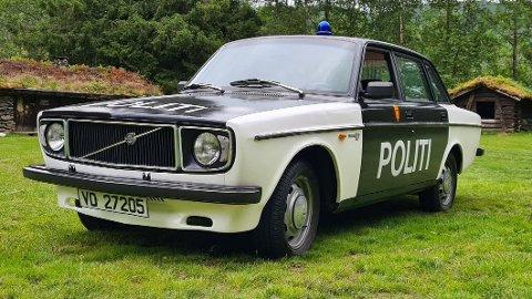 KLASSIKER: Denne mente politiet kunne forveksles med dagens politibiler. Nå er anmeldelsen henlagt. Foto: Privat