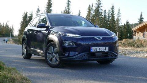 KALLES TILBAKE: Hyundai tilbakekaller over 100.000 eksemplarer av sin Kona, i Norge gjelder dette drøyt 6.000 biler.