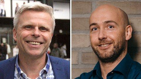 PENSJONSEKSPERTER: Bjørn Sættem i Nordnet (til venstre) og Stian Revheim i DNB er eksperter på pensjon.Foto: Jan Revfem (Nettavisen) / Stig Fiksdal (DNB)