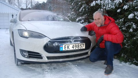 NYE UTFORDRINGER: Kulde kan by på spesielle utfordringer for elbil-eierene. Brooms bilekspert Benny Christensen mener det særlig er de ferske elbileierne som kan oppleve problemer nå.