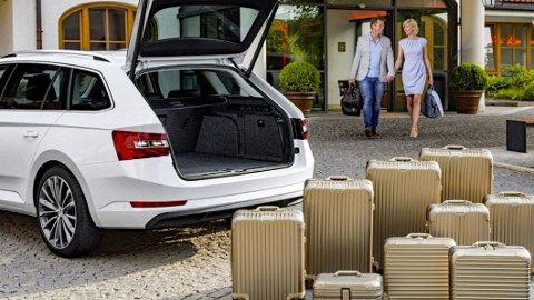 FOR MYE: Om noen uker pakker mange nordmenn bilene, med mye bagasje for å reise på ferie. Men én ting bør du sjekke først. Illustrasjonsfoto: Broom