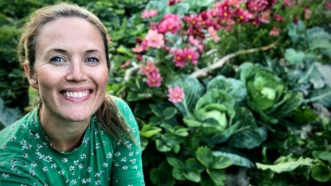 KOMMER TIL JEVNAKER: Maria Berg Hestad fra Det grønne skafferi tar turen til Jevnaker i helgen.