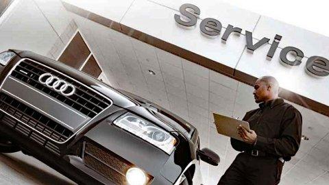 LITE OPPLØFTENDE: Audi er et av bilmerkene som kommer dårligst ut i denne nye, store brukerundersøkelsen.