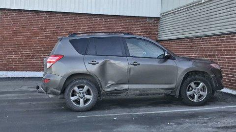 UTSATT: Høyre side av bilen er spesielt utsatt for skade, det viser en ny oversikt fra forsikringsselskapet If. – Disse skadene kommer gjerne når føreren ikke overholder den såkalte høyreregelen, sier Sigmund Clementz i If.