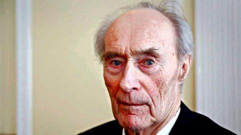 Joachim Rønneberg  (1919 - 2018)  -foto Marte Christensen NTB/Scanpix