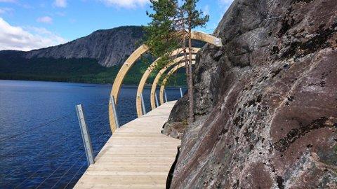 Fyresdal: En tilrettelagt sti i Fyresdal er blant de sju andre løypekandidatene i Telemark.